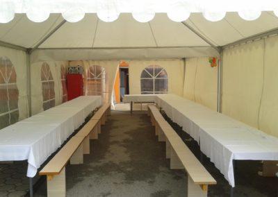 Najam šatora u Zagrebu
