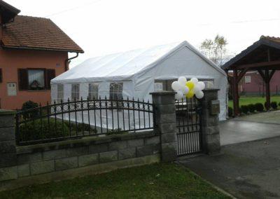 Posatvljanje šatore Zagreb